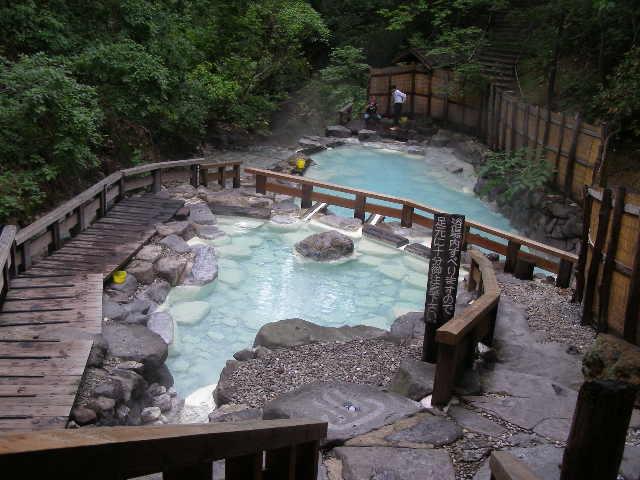 蔵王温泉の大露天風呂